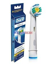3 GENUINE BRAUN ORAL B 3D WHITE (PRO BRIGHT) TOOTHBRUSH REPLACEMENT HEADS EB18-4
