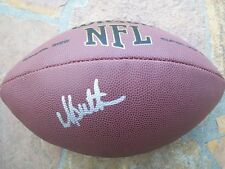 *DICK BUTKUS*SIGNED*AUTOGRAPHED*FOOTBALL*CHICAGO*BEARS*HALL*OF*FAME*