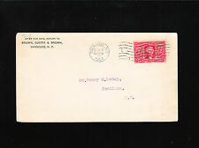 Brown Curtis Brown Syracuse New York 1904 Henry M Leroy Camillus NY Cover ä