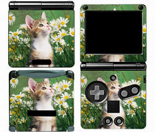 Cat 019 Vinyl Decal Skin Cover Protector Sticker for Game Boy Advance GBA SP