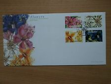 Singapore 20 September 2001 Singapore-Switzerland Joint. Flowers FDC SG1122-1125