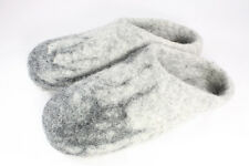 Men's Felted Wool Handcrafted Slippers