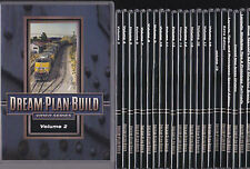 Dream Plan Build Video Series DVDs for Model Railroads 25 count
