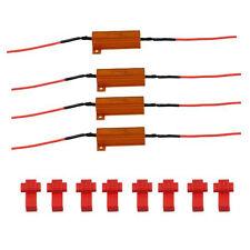 CARCHET 4er/Set 50W Lastwiderstand Widerstand fuer LED SMD Blinker DC12V ET