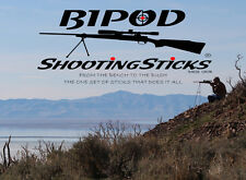 BIPOD Shooting Sticks for Varmint hunter ***** INCLUDES Carry Case *****