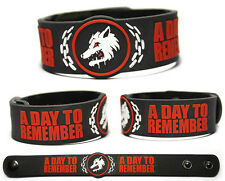 A DAY TO REMEMBER Rubber Bracelet Wristband Common Courtesy What Separates Me