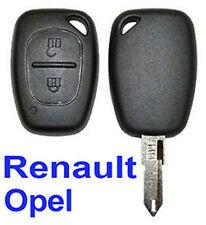 guscio chiave sistema keyless remoto Renault Trafic Kangoo Opel Master Vivaro