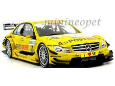 NOREV 183581 MERCEDES BENZ C CLASS DTM 2011 DEKRA 17 DAVID COULTHARD 1/18 YELLOW