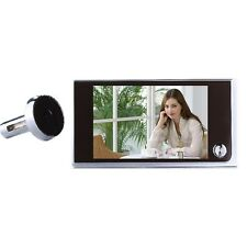 3.5 inch LCD 120 Degree Peephole Viewer Door Eye Doorbell Color IR Camera CC