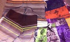 LOTS OF BOARD SHORTS FOR SALE, MANY SIZES AND STYLES, SEE ALL MY ITEMS!!!