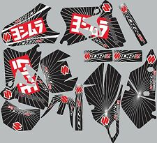 2000-2012 Suzuki DRZ400 DRZ 400 SM Graphics Decals Shrouds Rear fender Sticker