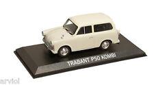 TRABANT P50 KOMBI  ( 1959 )  white -- 1/43 -- IXO/IST -- NEW