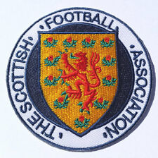 Scotland Football Crest Patch Embroidered Badge Scottish FA DIY World Cup 2018