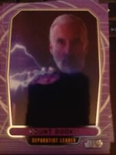 Star Wars 2012 Galactic Files 1 #36 Count Dooku Separtist Leader NrMint-MINT