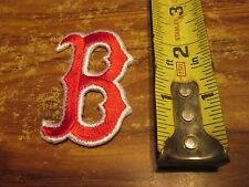BOSTON RED SOX  PATCH 2.5 INCHES EMBROIDERED IRON ON SWEET LOOKING
