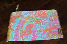 NWOT Lilly Pulitzer Scuba to Cuba print Sea Spray Purse Clutch