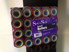 Soft'n Style 12 Dozen Smooth Hair Curler Rollers Set - 1095X