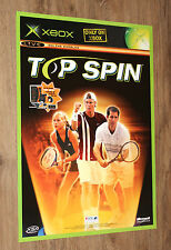 Old Xbox Top Spin / Amped 2 very rare Promo Poster 59x42cm