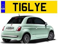 T16 LYE TILLY TILLYS TILLIE TILSON TYLER TIL TILLS PRIVATE NUMBER PLATE TILLEY