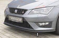 Rieger FRONT SPOILER spada per SEAT LEON 5f FR/CUPRA