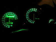 GREEN Suzuki GSXR 750 600 1992-1995 led dash clock conversion kit lightenUPgrade