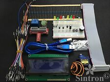 [SINTRON] Upgrade GPIO Starter kit for Raspberry Pi B, LCD 2004 Servo LED Relay