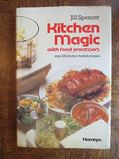 Vintage Cook Book Food Processors Kitchen Magic 120 Recipes Cooking Cookery 1979