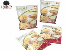 EMERGENCY FREEZE DRIED FOOD STORAGE SAMPLE PACK: SURVIVAL MEAL SAMPLER - 16 SVGS
