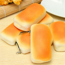 Hot Jumbo Squeeze Bread Soft Buns Scented Phone Straps Charms Slow Rising Toy