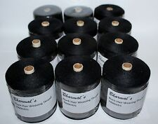 Hair Extension Weaving Thread Black -12Rolls of 1000mtr.