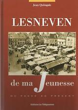 JEAN QUINQUIS LESNEVEN DE MA JEUNESSE DU PASSE AU PRESENT LE TELEGRAMME 2004