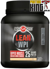 MUSASHI LEAN WPI 1.9KG CHOCOLATE WHEY PROTEIN ISOLATE RIPPED MUSCLE BCAA ISO8