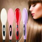Protable Hair Straightener Straight Comb Irons Brush Thermostatic Styling