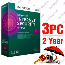 Kaspersky Internet Security 2015 3 PC 2 Year | Download | No Cd | Multi Language