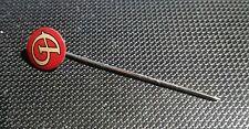 Daimler Anstecknadel Abzeichen rot Logo Kopf selten 10mm