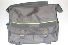 KENNETH COLE MESSENGER BAG MENS GREY