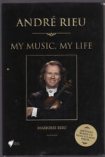 ANDRE RIEU : MY MUSIC MY LIFE - MARJORIE RIEU    FIRST EDITION    bz