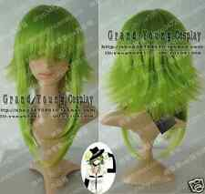 HOT! Vocaloid Gumi Cosplay Grass Green Wig ST913  Free Shipping
