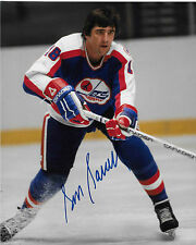 Serge Savard Signed Winnipeg Jets 8X10 photo *HOF*