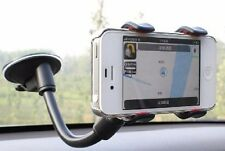 """10"""" AUTO CAR ACCESSORY 360° Rotating Phone Windshield Mount GPS Holder Stand"""