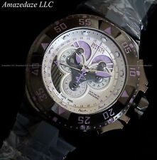 Invicta Mens Amethyst Reserve Swiss Made Excursion Master Calendar Chrono Watch