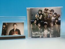 CD+Photo card SUPER JUNIOR Mr. Simple JAPAN Single SungMin Sung Min