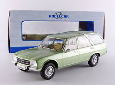 MCG 1976 Peugeot 504 Break Light Green Metallic in 1/18 Scale New! In Stock!