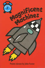 Time for a Rhyme - Magnificent Machines Paperback Book