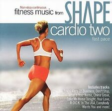 Shape Fitness Music: Cardio 2 Pure Rock Various Artists Audio CD