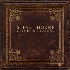 STEVE THORNE - Crimes & Reasons  SEALED  2012  D'Virgilio/Chandler/Levin/Orford