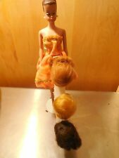 FASHION QUEEN BARBIE DOLL WITH WIGS 1960'S