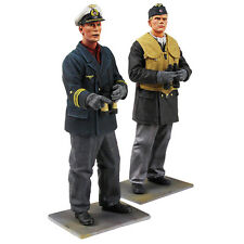 "W. Britain 13017 - ""On Watch"" - German U-Boat Crewman and Captain, WWII - 2 Pcs"