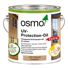 Osmo UV Protection Oil Extra 429 Natural Semi-Matt 2.5 litre - For Exterior Wood