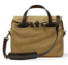 FILSON Original Briefcase Laptop Bag Tan New